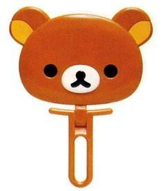 San-x Rilakkuma Face-shaped Mirror by San-X