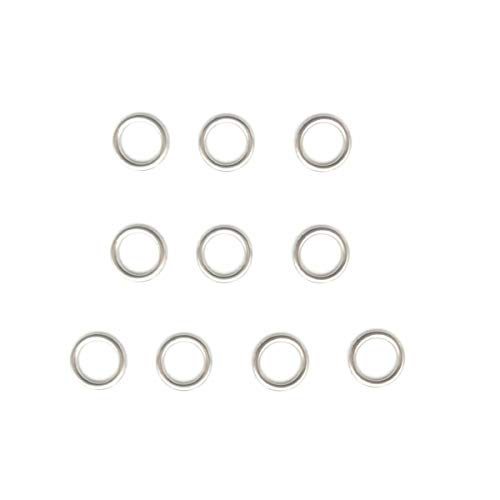 Engine Oil Drain Plug Gaskets Fit for VW Jetta Golf CC PASSAT AUDI A3 A4 A5 Q3 Q5 N 013 815 7 N 911 679 01 BMW 89V3 E28 E30 E34 (10 Pcs)