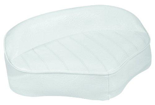 Wise Pro Casting Deck Seat, White (Saddle Pro White)