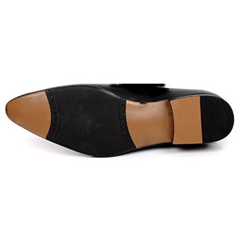 Boda Hombre Puntiagudos Europea Cuero Zpedy Versión De Negocios Black Zapatos wFUxnq87