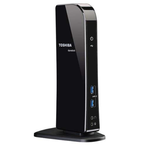 Toshiba Dynadock U3.0 Universal USB 3.0 Docking Station - T - PA3927U-1PRP (Renewed)