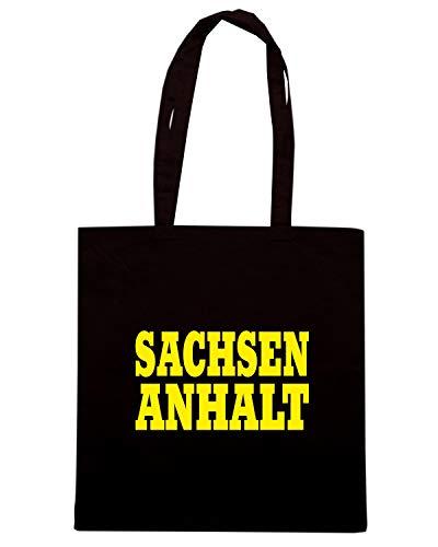 Nera SANCHSEN LAND ANHALT Speed Shirt WC0843 CITY GERMANY Shopper Borsa qBt4Hw7
