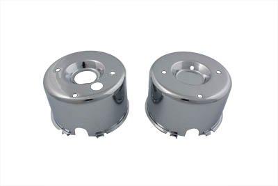 - V-Twin 39-0162 - Chrome Gauge Cover Set