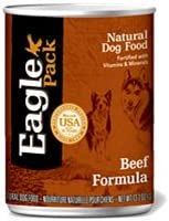 Eagle Pack Natural Canned Dog Food Beef Formula 13.2 oz. cans 12 in case