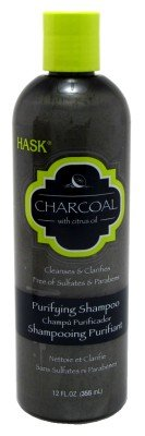 Hask Charcoal Purifying Shampoo, 12.0 FL OZ