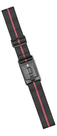 Victorinox  Travel Sentry Approved Lockable Luggage Strap,Black,One Size Victorinox Travel Gear 30370301-Black-One Size