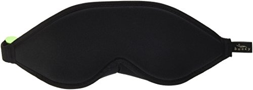 Bucky Blockout Eye Shade with Earplugs, Comfortable & Ultra