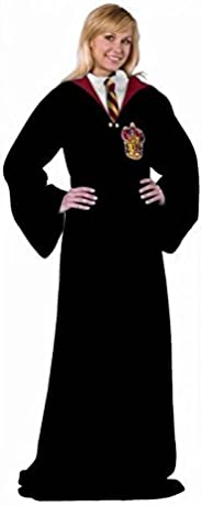 Harry Potter Gryffindor Rules Adult Soft Throw Blanket with Sleeves, 48