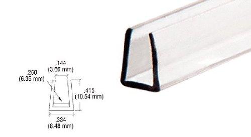 CRL Clear Plastic Molding long