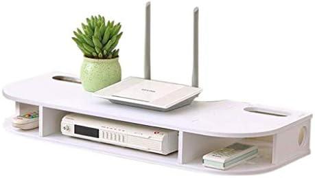 Yqzq WiFi Router Caja de Almacenamiento Tapices de Pared Soporte Organizador de Cable Casa Interior: Amazon.es: Electrónica