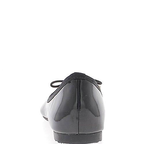 Assorti Noires Vernies Talonnette Noeud Classiques et de 1cm Ballerines avec zTq6fnxw