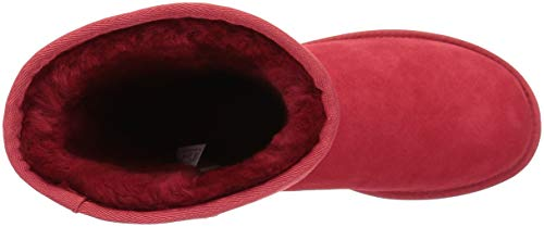 UGG Women's Classic Short Ii, Ribbon Red