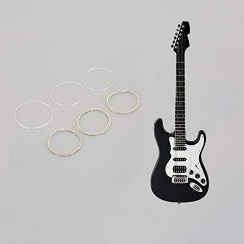 Juego de cuerdas de nylon plateado claro y plateado para guitarra ...
