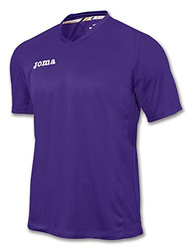 Joma - Camiseta triple amarillo m/c para hombre Morado - 550