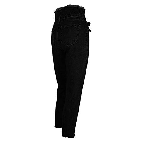Crudos Las Al Talle Jeans Denim Slim Libre Alto De Huixin Aire Adornos Pantalones Vaqueros Stretch Mujeres Blau Tallas Skinny Cintura Grandes wqTBTEzWn
