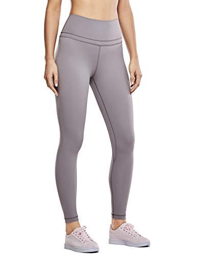 CRZ YOGA Women's Naked Feeling High Waist Tight Yoga Pants Workout Leggings-25 Inches Lunar Rock 25'' - R009 XL(14) (Lunar Rock)