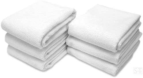 Microfiber Fitness Exercise Towels White product image