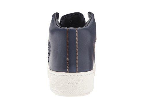 COACH Men's Contrast Stitch C210 Navy Sneaker 11.5 D (M) - Mens Coach Sneakers