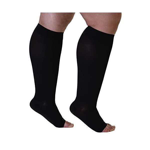 Bariatric Extra Wide Calf Support Socks