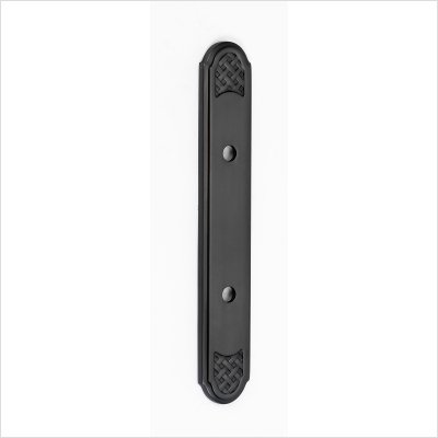 Alno A1487-3-AP Classic Weave Suite Pull Cabinet Backplate by Alno (Image #3)