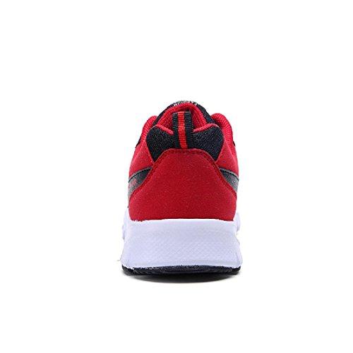 Hombres Zapatos deportivos El nuevo Moda Zapatos para correr Entrenadores Respirable Al aire libre Zapatos de lona Black