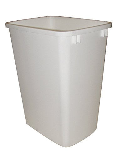 (Rev-A-Shelf Replacement Waste Bin White-35 Quart)