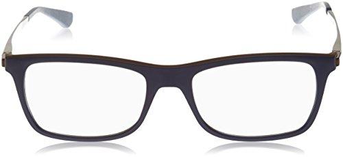 a91c3821f24248 Ray Ban Optical Montures de lunettes RX7062 Pour Homme Matte Black, 53mm  Noir (Negro ...