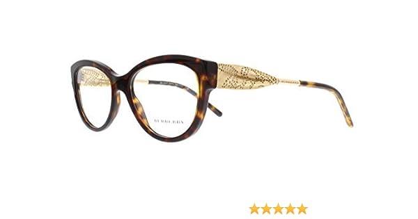 2ff12011d6a BURBERRY Eyeglasses BE 2210 3002 Havana 53MM at Amazon Men s Clothing store