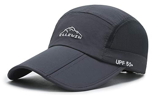 ELLEWIN Baseball Cap Quick Dry Travel Hats UPF50+ Cooling Portable