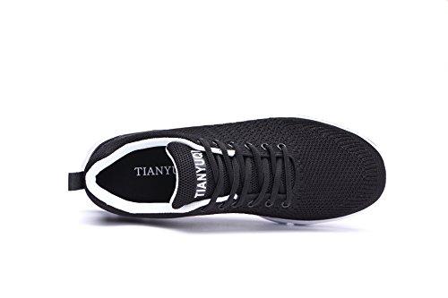 Fitness Ginnastica 2018 Running Mesily Sport Tutto Antiscivolo Nero Per Lo Scarpe Outdoor Da Donna Shoes Sneakers Gym EqPAv6qw