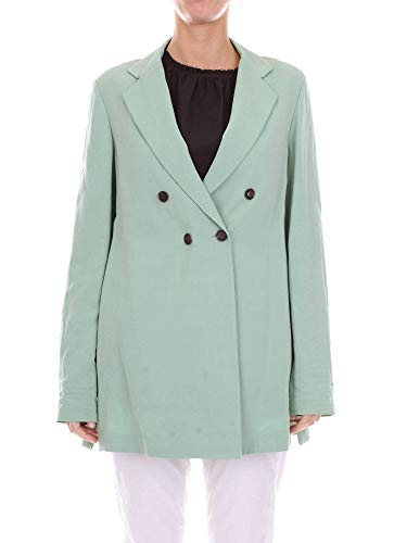 Donna Alysi 108801p8035green Cappotto Cotone Verde W92IEYDH