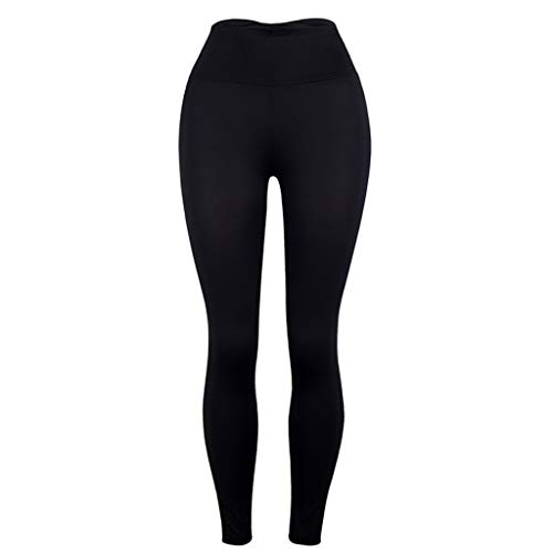 Other-sey Yoga Pant Women Solid Sports Tight Pants Workout Leggings Fitness Sports Yoga Marika Yoga Pants for Women Black]()