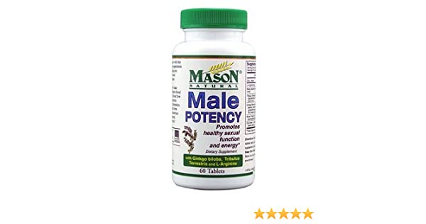 Amazon.com: Mason Natural Male Potency Dietary Supplement Tablets for Sexual Health - 60 Ea: Health & Personal Care