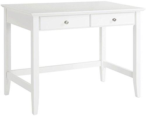 Crosley Furniture CF6506-WH Campbell Writing Desk - (Classic Writing Desk)