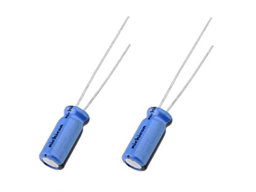 2x Nichicon Kt audio 470uf 16v Ukt1c471mpd Condensatore Elettrolitico