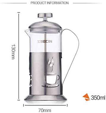 PMTX-kettle Cafetera con Filtro de Acero Inoxidable Prensa de café ...