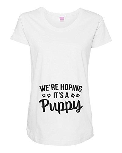Funny Threadz Womens Pregnancy Maternity Shirt 'We're Hoping...