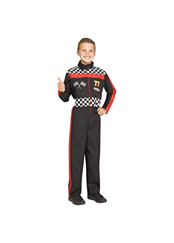 Little Boys' Childrens Race Car Driver Costume -