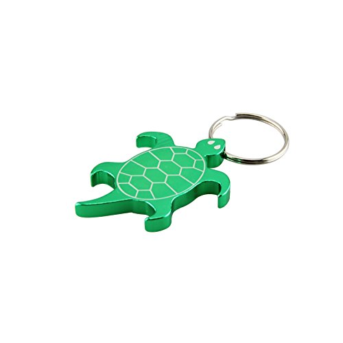 Swatom Turtle Aluminum Alloy bottle opener keychain, Creative Gifts, 1 Piece