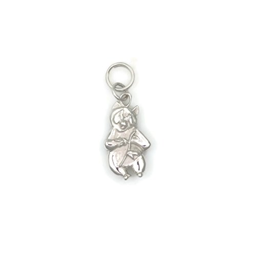 14Kt Panda Charm, 14Kt White Gold Panda Bear Charm, 14Kt Gold Panda Pendant, Donna Pizarro, Animal Whimsey Collection by Donna Pizarro Designs