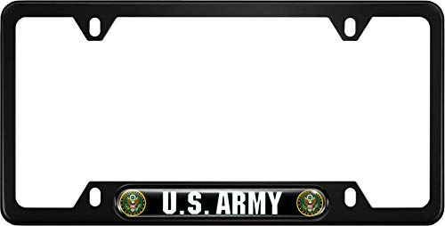 Top 10 best us army license plate frame black 2020