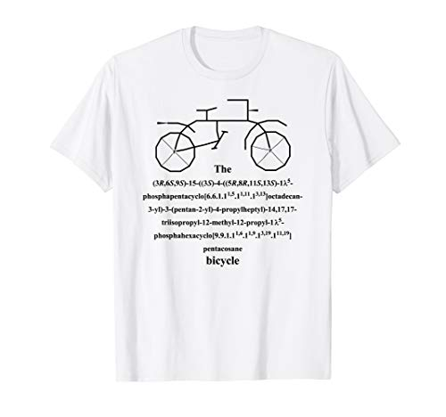 Bicycle - bike - organic chemistry IUPAC nomenclature -black ()