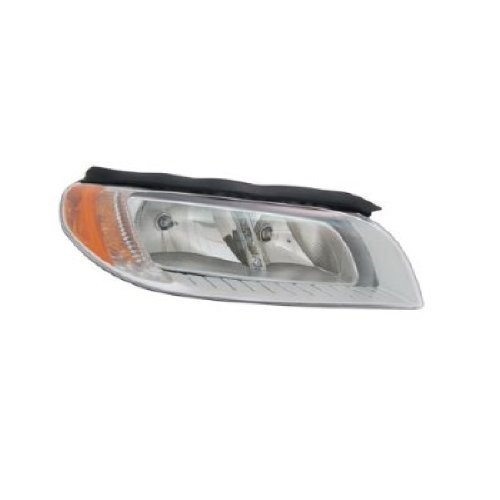 OE Replacement Volvo S80/V70/XC70 Passenger Side Headlight Assembly Composite (Partslink Number ()