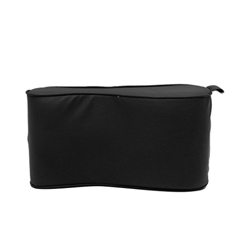 uxcell Black Faux Leather Universal Multifunctional Armrest Pad Cushion for Car SUV by uxcell (Image #1)