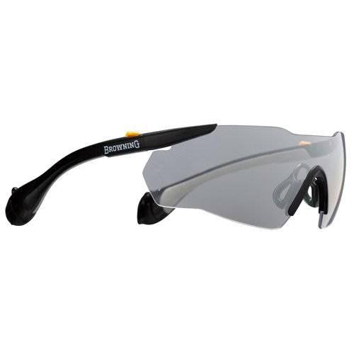 Browning Sound Shield Indoor/Outdoor Shooting Glasses, Large, Clear
