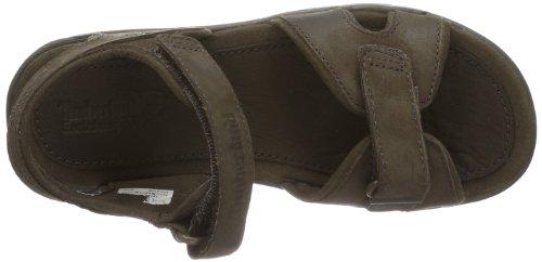 marrone Sandal 2 Sandali bambino Unisex Leather Harbor EK Rye Strap Timberland OnPC4av