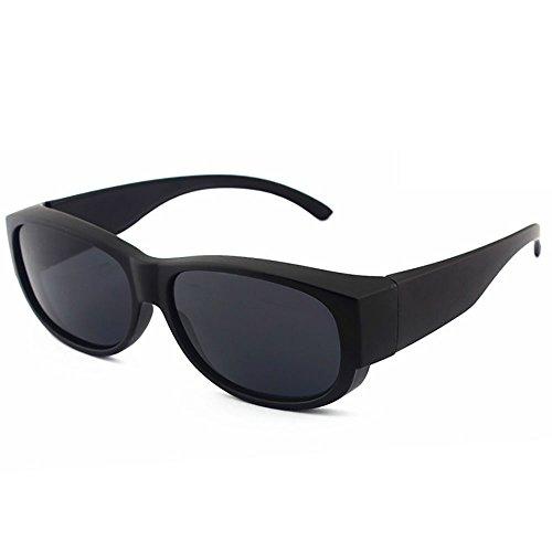 Gli Occhiali Sopra Sole Indossare Visione Sheen Kelly La Per NotturnaNero Normali Da Polarizzati Fitover redoWCxB