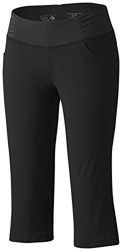 - Mountain Hardwear Women's Dynama Capri Pants, Black, M x 19L