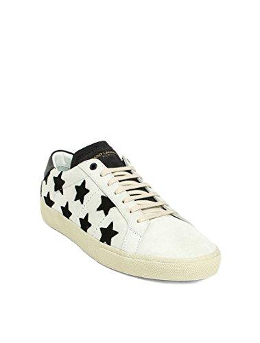 Laurent 487172D5XA09152 Uomo Pelle Saint Beige Nero Sneakers Saint Laurent Sneakers tq7wFnZ