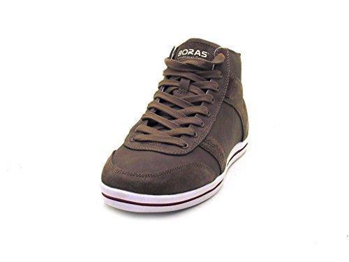Boras - Baskets Chaussures Haute Cheville Taupe